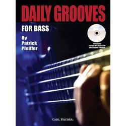 Daily Grooves for Bass w/CD