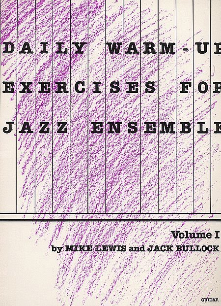 View larger image of Daily Warm-up Exercises for Jazz Ensemble Vol 1 - Trumpet 1