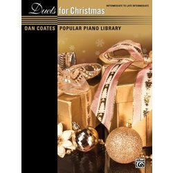 Dan Coates Popular Piano Library: Duets for Christmas (1P4H)