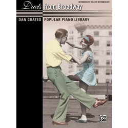 Dan Coates Popular Piano Library: Duets from Broadway (1P4H)