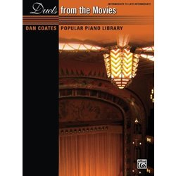 Dan Coates Popular Piano Library: Duets from the Movies (1P4H)