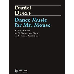 Dance Music for Mr. Mouse - E Flat Clarinet and Piano