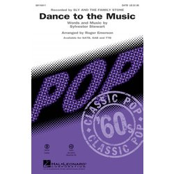 Dance to the Music, SATB Parts
