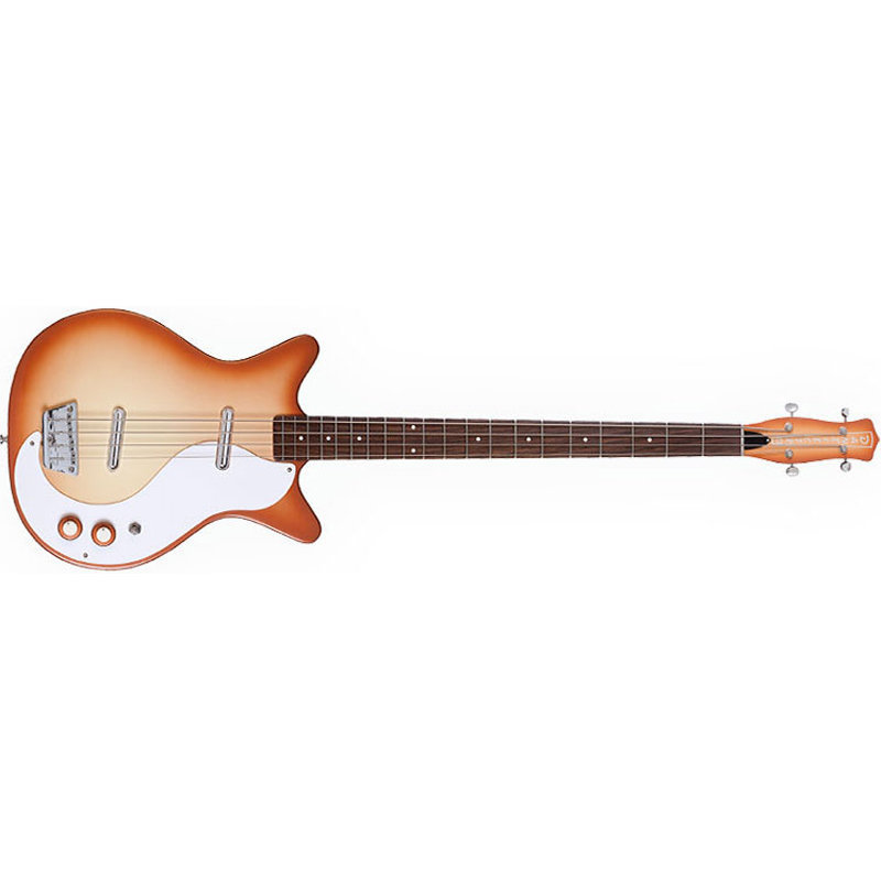 View larger image of Danelectro '59DC Long Scale Bass Guitar - Copper Burst