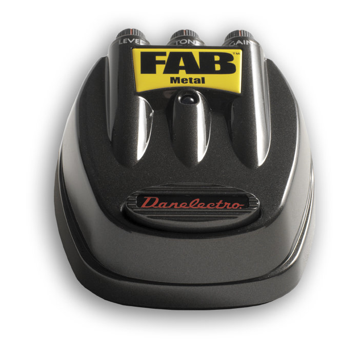 View larger image of Danelectro D-3 FAB Metal Pedal Effect