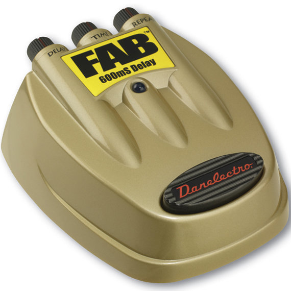 View larger image of Danelectro D-8 FAB Delay Guitar Effect Pedal