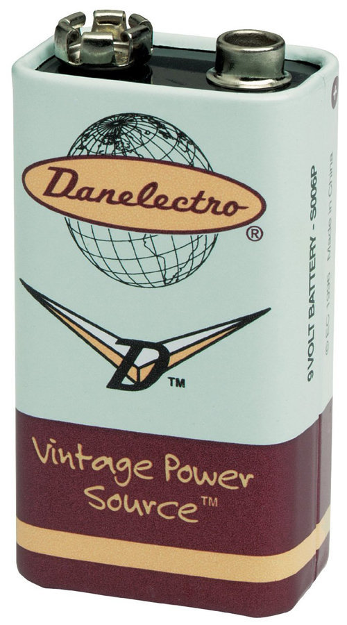 View larger image of Danelectro DB-9V 9-Volt Battery - Single