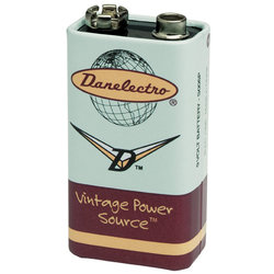 Danelectro DB-9V 9-Volt Battery - Single