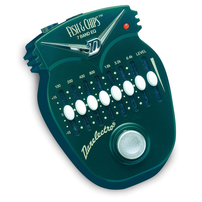 View larger image of Danelectro DJ-14 Fish and Chips 7 Band EQ Pedal Effect