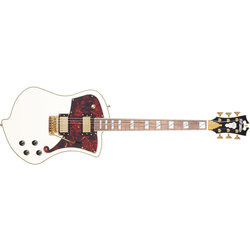 D'Angelico Deluxe Ludlow Electric Guitar - Vintage White