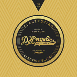 D'Angelico Electrozinc Jazz Electric Guitar Strings - 10-47