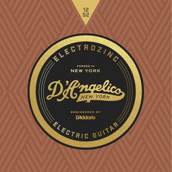 D'Angelico Electrozinc Jazz Electric Guitar Strings - 12-52