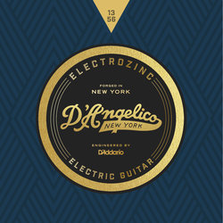 D'Angelico Electrozinc Jazz Electric Guitar Strings - 13-56