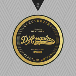 D'Angelico Electrozinc Rock Electric Guitar Strings - 09-42