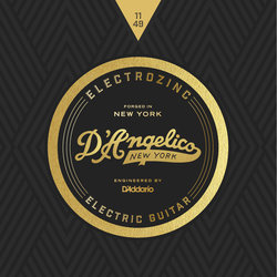 D'Angelico Electrozinc Rock Electric Guitar Strings - 11-49