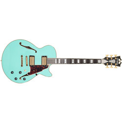 D'Angelico Excel SS Shoreline Electric Guitar - Stopbar, Surf Green