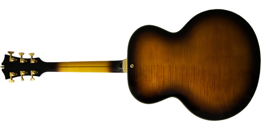 View larger image of D'Angelico Excel Style B Electric Guitar - Vintage Sunburst