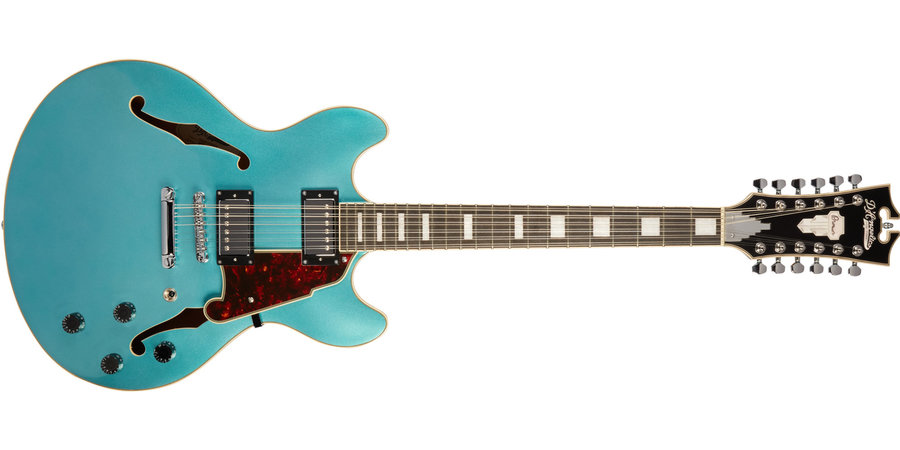 View larger image of D'Angelico Premier DC 12-String Electric Guitar - Ocean Turquoise