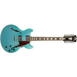 D'Angelico Premier DC 12-String Electric Guitar - Ocean Turquoise