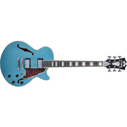 D'Angelico Premier SS Electric Guitar - Stopbar, Ocean Turquoise