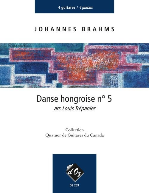 View larger image of Danse Hongroise No.5 (Hungarian Dance No.5) (Brahms) - Guitar Quartet