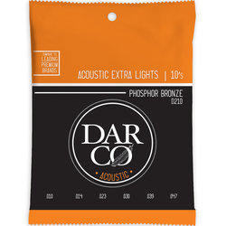 Darco Acoustic Guitar Strings - 92/8, Extra Light