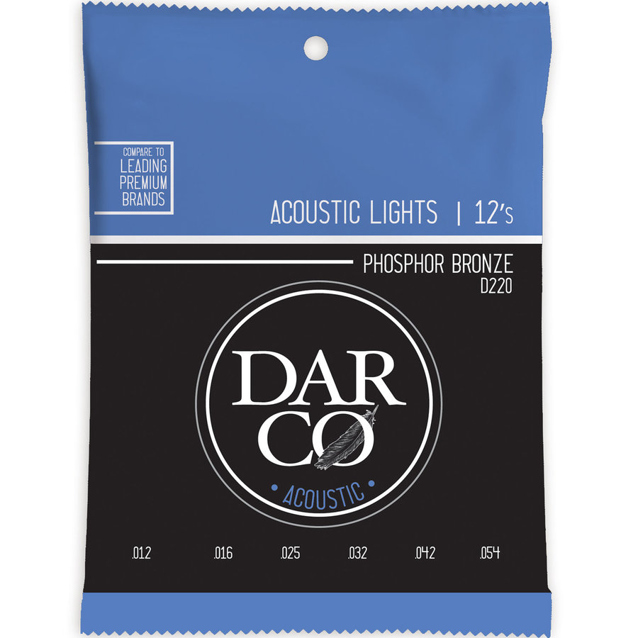 View larger image of Darco Acoustic Guitar Strings - 92/8, Light