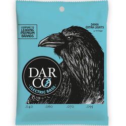 Darco Electric Bass Guitar Strings - 4 String, Extra Light