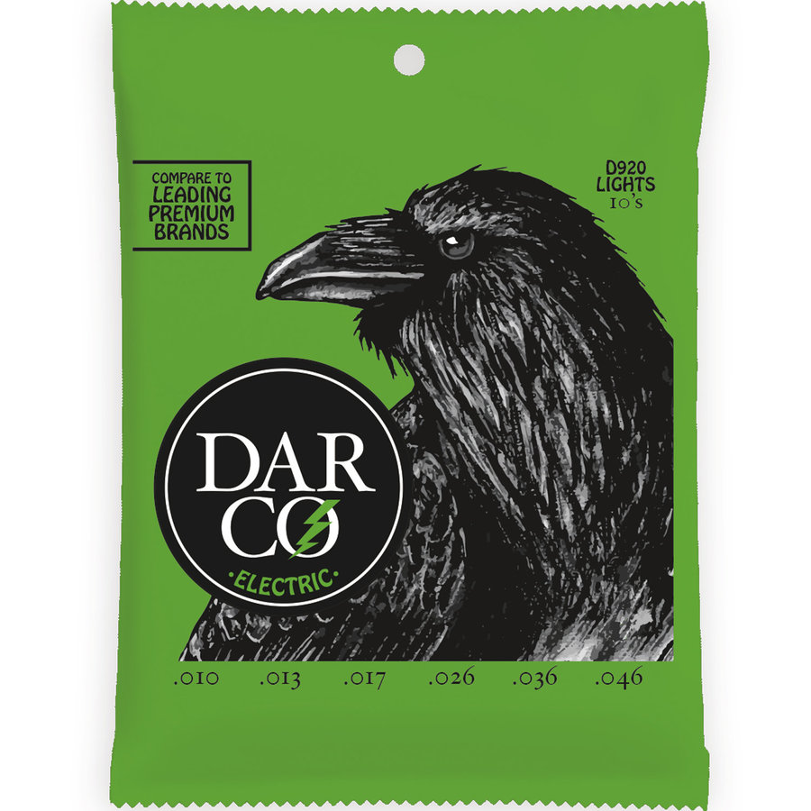 View larger image of Darco Electric Guitar Strings - Light