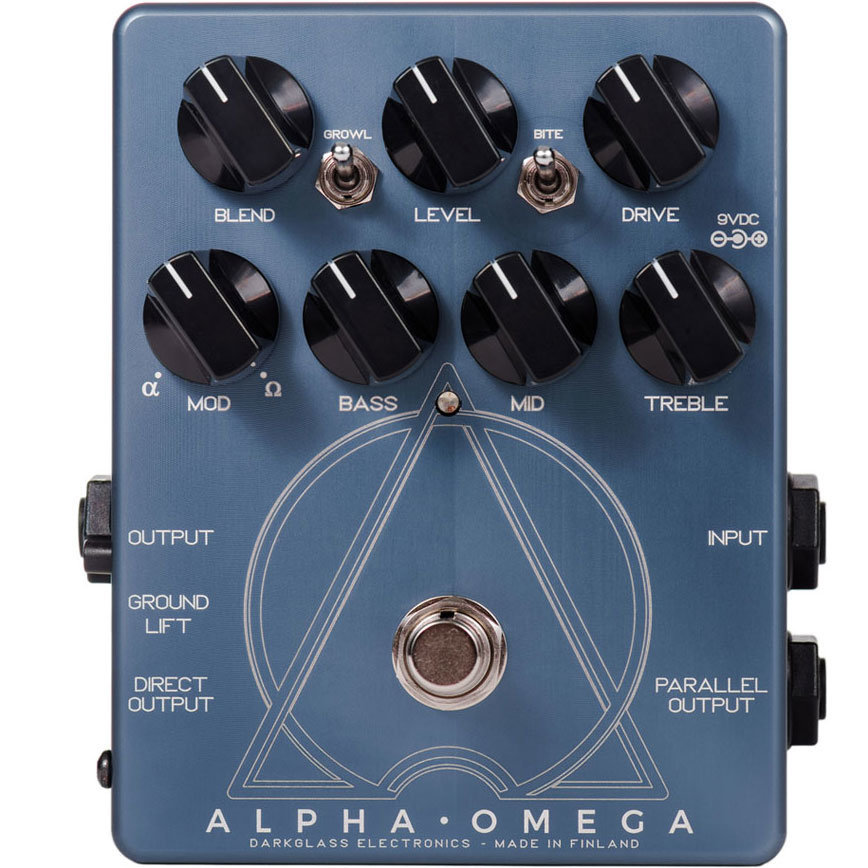 View larger image of Darkglass Electronics Alpha-Omega Distortion Pedal