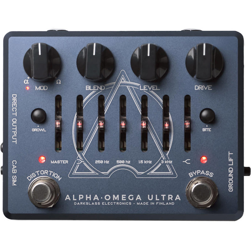 View larger image of Darkglass Electronics Alpha Omega Ultra Dual Bass Pedal