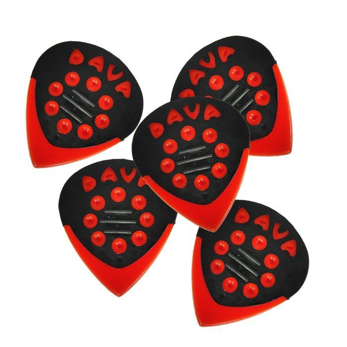 View larger image of Dava D9204 Delgrin Jazz Grips Picks - 6 Pack