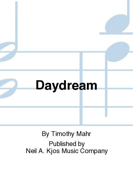 View larger image of Daydream - Score & Parts, Grade 3.5