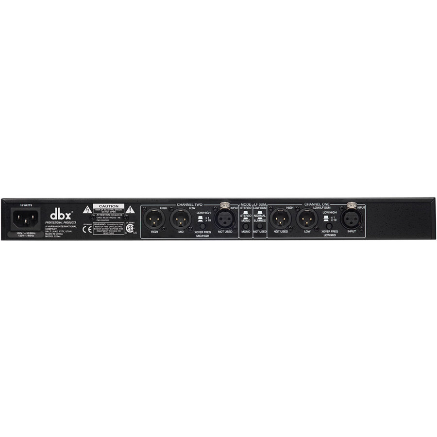 View larger image of DBX 223XS Dual Channel Crossover