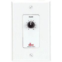 dbx ZC1 Wall-Mounted Zone Controller for DriveRack and ZonePro