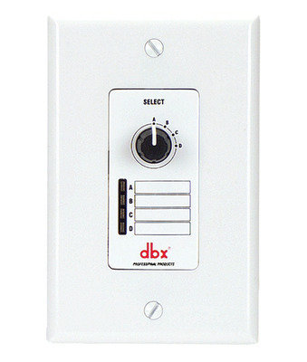 View larger image of DBX ZC3 Wall Mounted Zone Controller