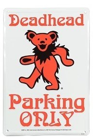 View larger image of Deadhead Dancing Bear Parking Sign