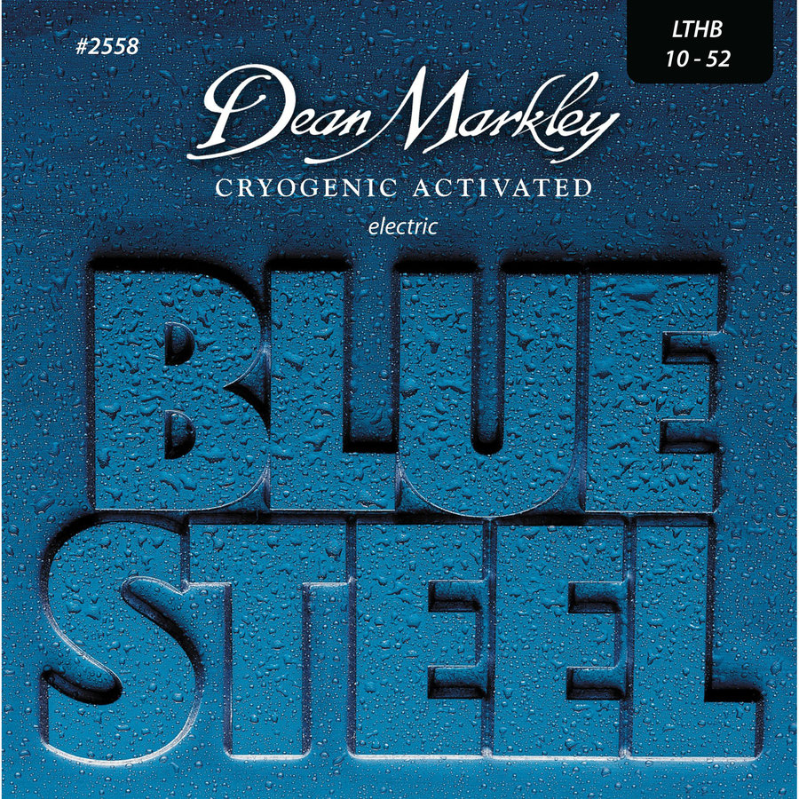 View larger image of Dean Markley Blue Steel Electric Guitar Strings - Light Top/Heavy Bottom, 10-52