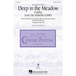 Deep in the Meadow / (Lullaby) (from The Hunger Games), SATB Parts