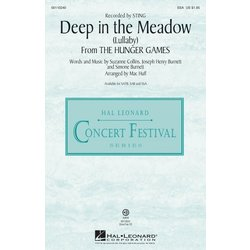 Deep in the Meadow / (Lullaby) (from The Hunger Games), SSA Parts