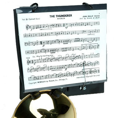 View larger image of DEG HC260 Trumpet Lyre - Clamp-on