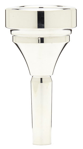 View larger image of Denis Wick Classic Tuba Mouthpiece - Silver, 1
