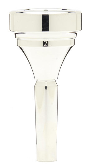 View larger image of Denis Wick Classic Tuba Mouthpiece - Silver, 2L