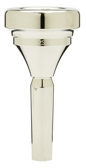 View larger image of Denis Wick Classic Tuba Mouthpiece - Silver, 2SL