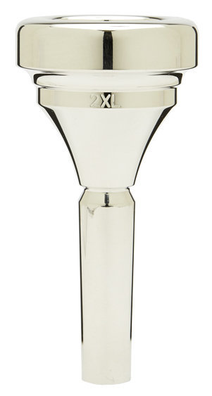 View larger image of Denis Wick Classic Tuba Mouthpiece - Silver, 2XL