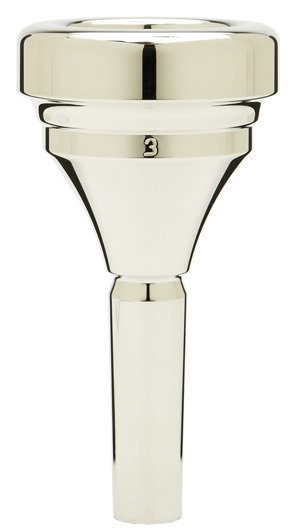 View larger image of Denis Wick Classic Tuba Mouthpiece - Silver, 3