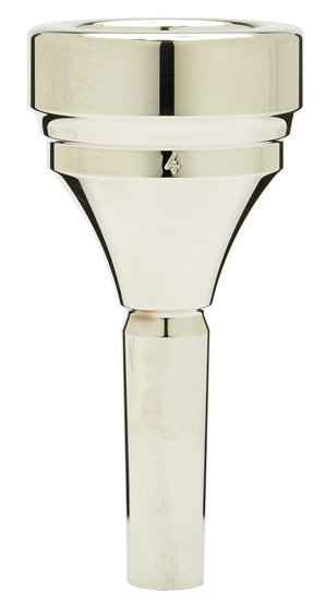 View larger image of Denis Wick Classic Tuba Mouthpiece - Silver, 4
