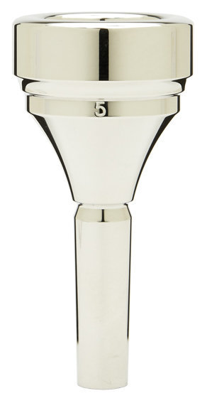 View larger image of Denis Wick Classic Tuba Mouthpiece - Silver, 5