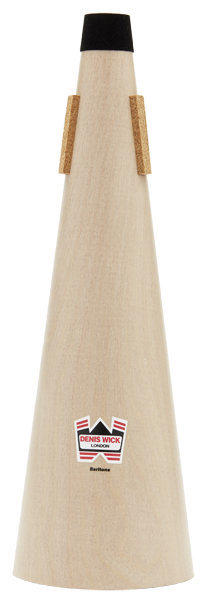 View larger image of Denis Wick Wooden Straight Mute for Baritone
