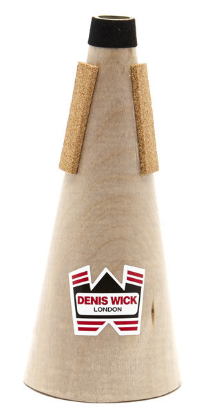 View larger image of Denis Wick Wooden Straight Mute for D Trumpet or Eb Cornet